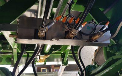 Zentrale Schaltboxen reduzieren aufwendiges Verlegen von Druckluftleitungen